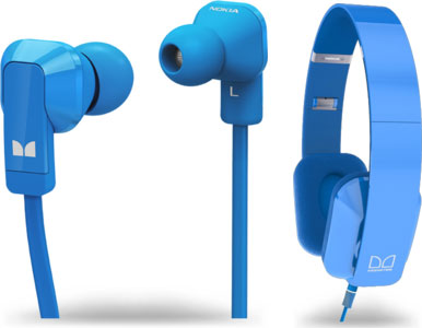 Накладные наушники Nokia Purity HD Stereo Headset и вставные Nokia Purity Stereo Headset