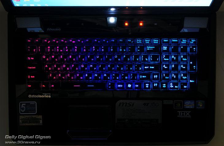 Клавиатура ноутбука с подсветкой своими руками
