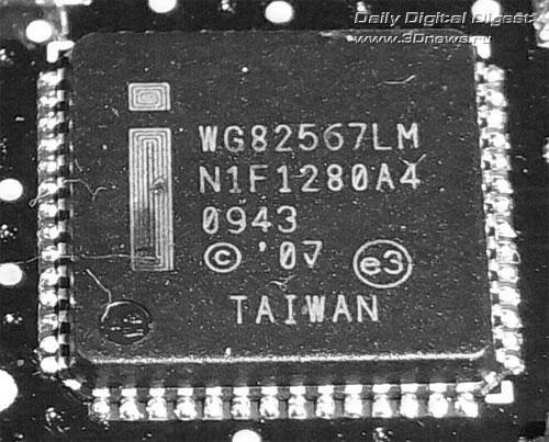 Intel DX58SO сетевой контроллер