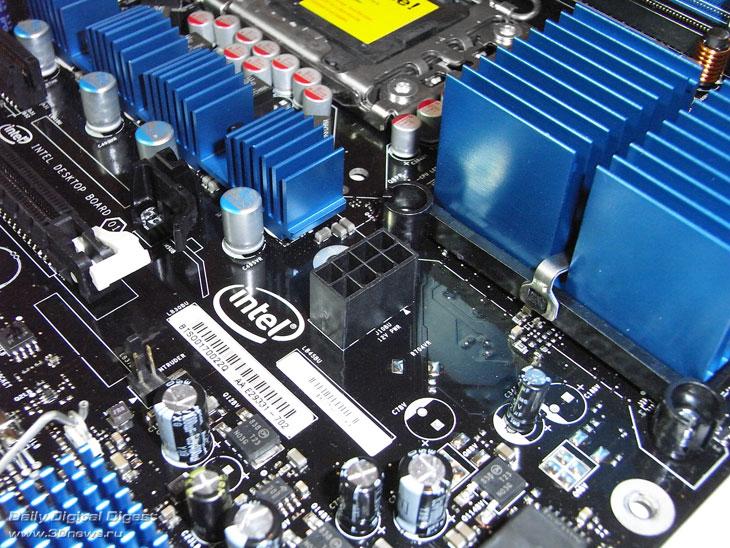 Intel DX58SO дополнительный разъем питания