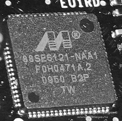 Intel DX58SO SATA-контроллер