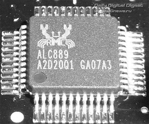 Intel DX58SO звуковой контроллер