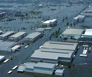 Завод Mazda в Таиланде. Сентябрь 2011 года