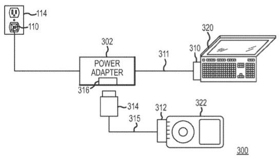 Компания Apple патентует универсальный адаптер питания для нескольких устройств.