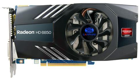 Sapphire Radeon HD 6850 2GB GDDR5