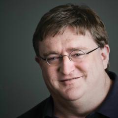 Соучредитель и руководитель Valve Гейб Ньюэлл (Gabe Newell)