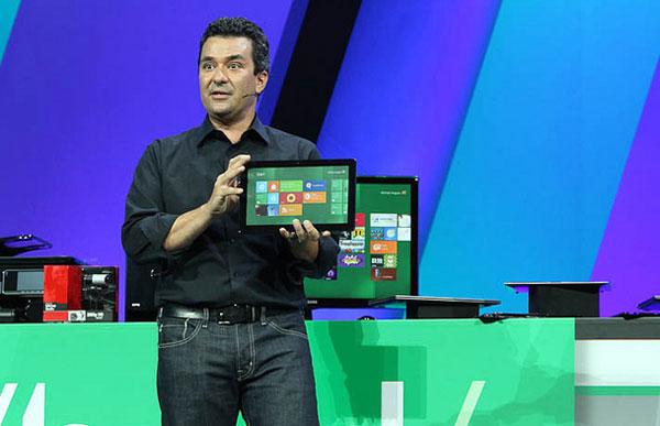 Планшет с Windows 8 на конференции BUILD