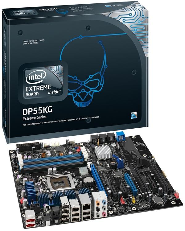 ...сама компания Intel выпустила несколько моделей материнских плат, среди...