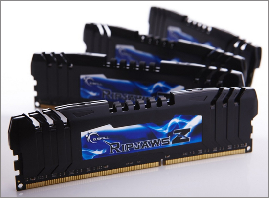 G.Skill RipjawsZ Series 64GB DDR3-2400 Quad Channel Memory Kit