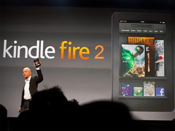 Kindle Fire 2 (и 10-дюймовый планшет Amazon)