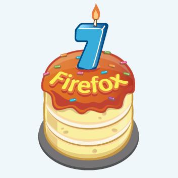 Браузеру Firefox — 7 лет