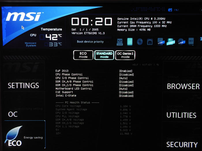 MSI X79A-GD65 (8D) CPU 2