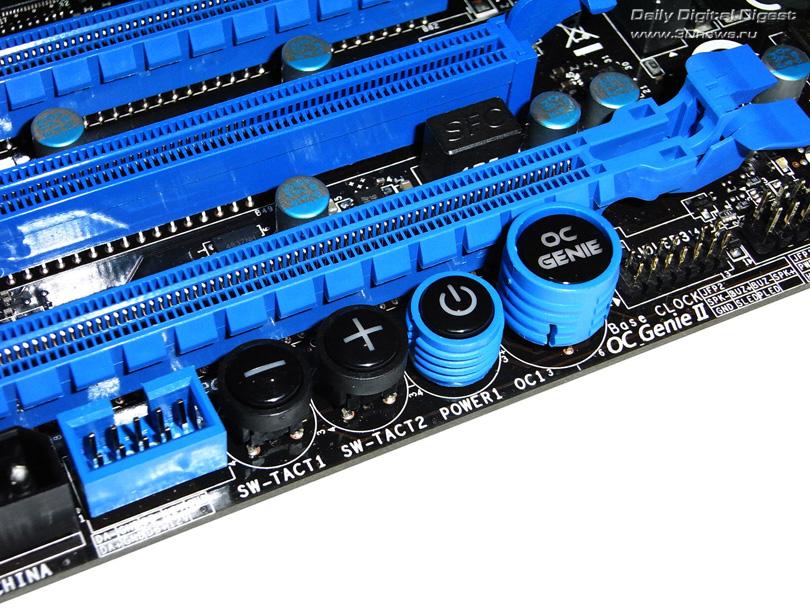 MSI X79A-GD65 (8D) кнопки