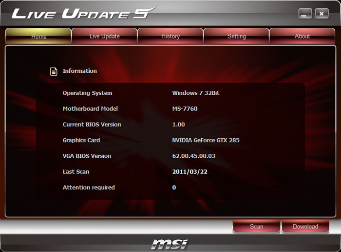 MSI X79A-GD65 (8D) Live Update 5