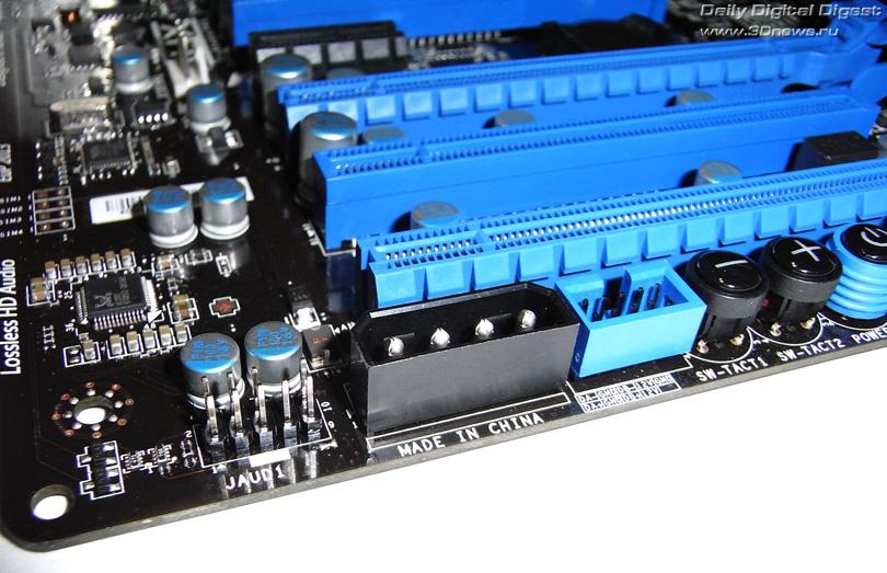 MSI X79A-GD65 (8D) разъем питания