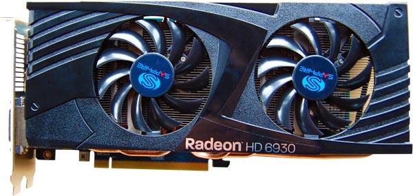 Sapphire Radeon HD 6930 2GB GDDR5