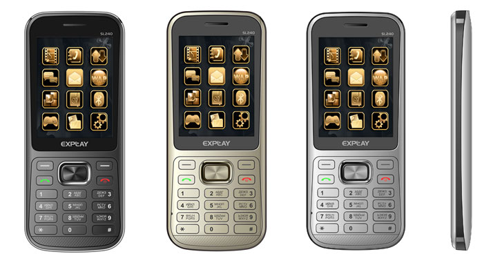 Телефон Explay SL 240...  Аппаратная часть включает картовод micro-SD (до 16 Гбайт), Bluetooth 2.1 с профилем A2DP...