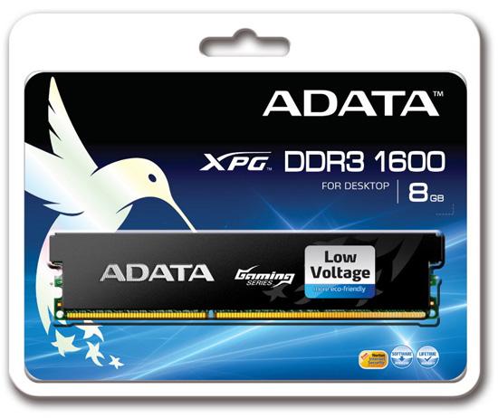 ADATA XPG Gaming Series DDR3-1600 8GB Memory Module