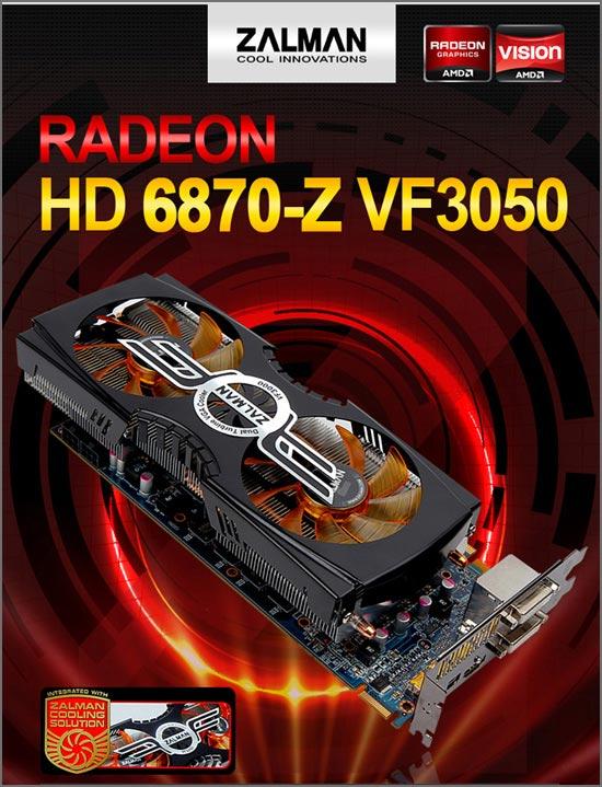 Zalman HD6870-Z VF3050