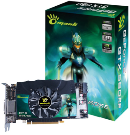 Manli GeForce GTX 560 SE