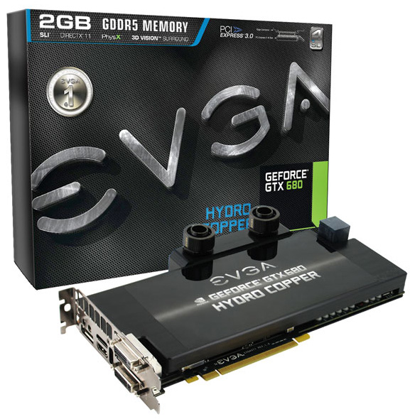 EVGA GeForce GTX 680 Hydro Copper