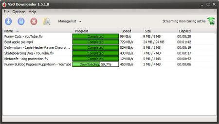 VSO Downloader - программа для скачивания видео с сайтов