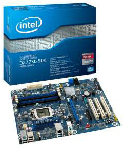 Intel Desktop Board DZ77SL-50K