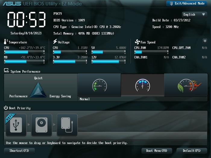 ASUS P9X79 BIOS
