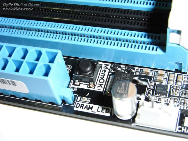 ASUS P9X79 кнопка MemOK
