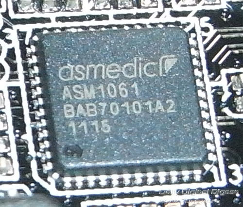 ASUS P9X79  SATA-контроллер