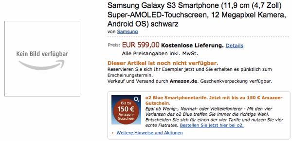 Amazon Samsung Galaxy S III