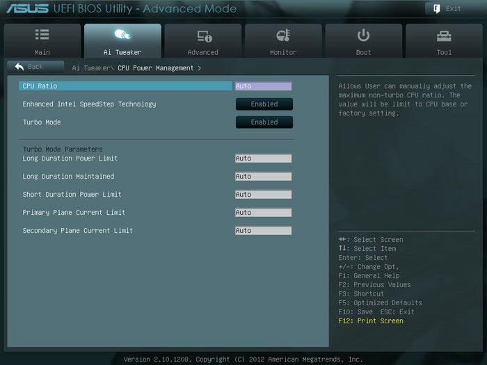 ASUS P8H77-M LE BIOS CPU1