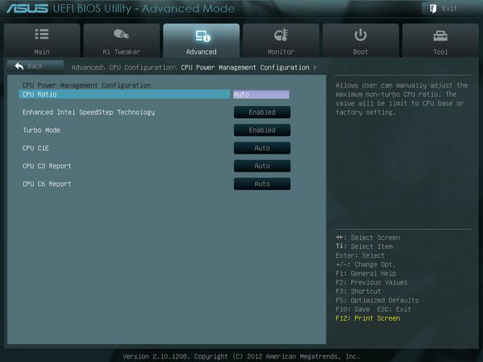 ASUS P8H77-M LE BIOS CPU3