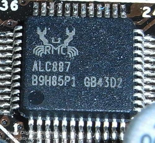 ASUS P8H77-M LE звуковой контроллер