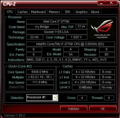 Core i7 3770K на частоте 6,93 ГГц походит 3DMark2001 SE