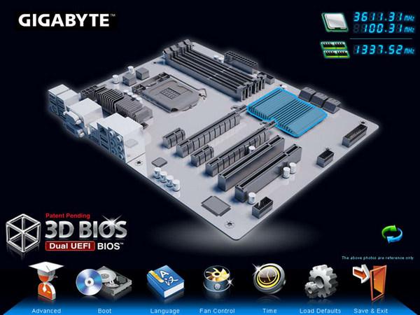 Gigabyte Z77X-UD5H BIOS
