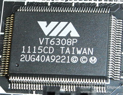 Gigabyte Z77X-UD5H контроллер FireWire