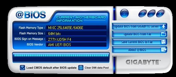 Gigabyte Z77X-UD5H @BIOS