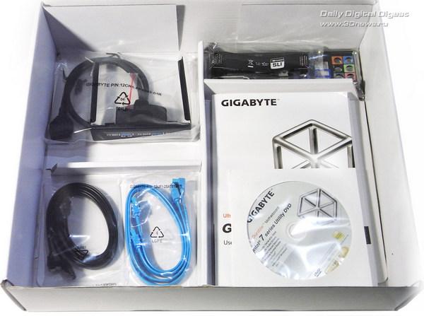 Gigabyte Z77X-UD5H комплектация 2