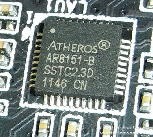 Gigabyte Z77X-UD5H сетевой контроллер 2