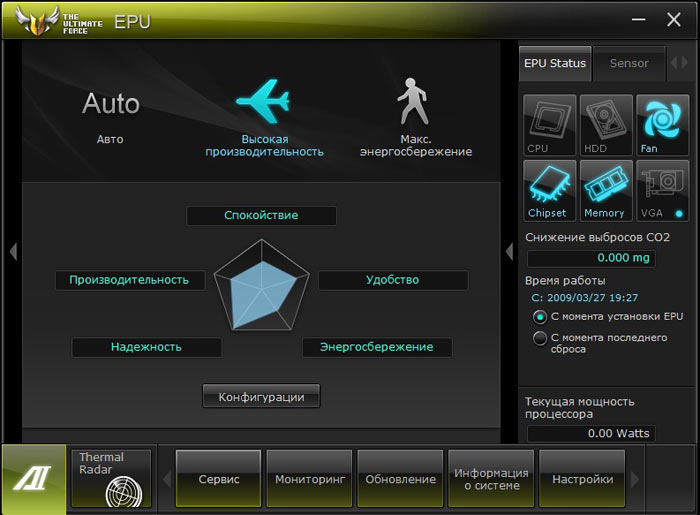 ASUS Sabertooth Z77 EPU