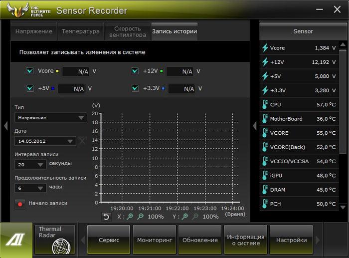 ASUS Sabertooth Z77 AI Suite 1