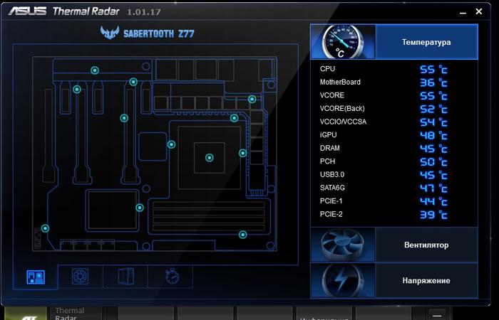 ASUS Sabertooth Z77 AI Suite 5