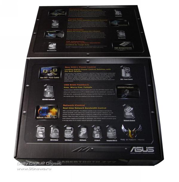 ASUS Sabertooth Z77 упаковка 2