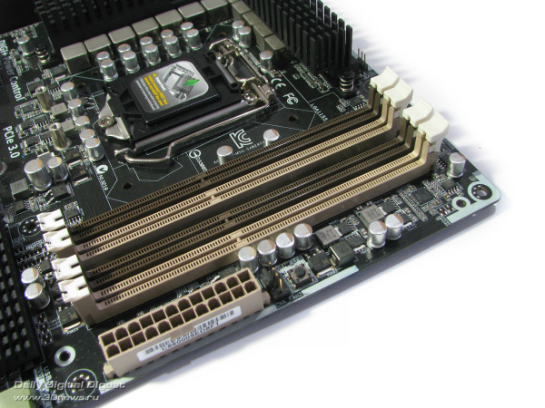ASUS Sabertooth Z77 DIMMs