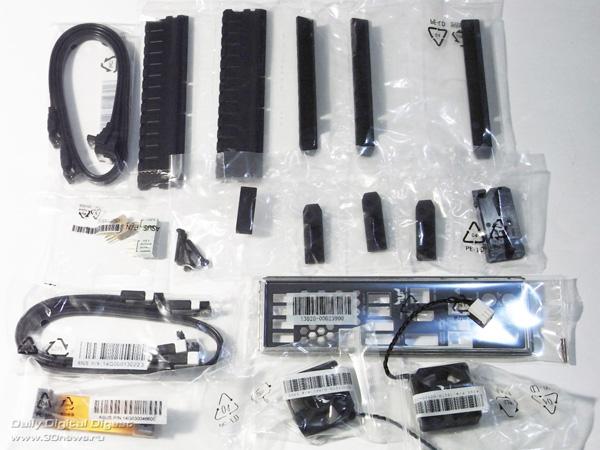 ASUS Sabertooth Z77 комплектация 2