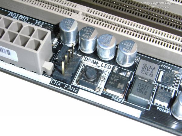 ASUS Sabertooth Z77 кнопка MemOK