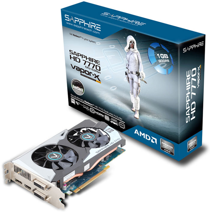 Sapphire Radeon HD 7770 Vapor-X OC Edition