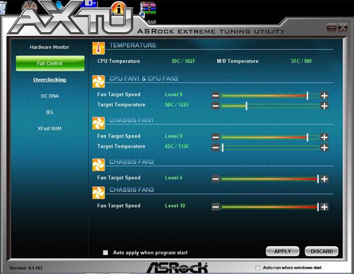 ASRock Z77 Extreme6 системный мониторинг 4