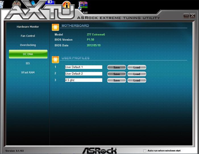 ASRock Z77 Extreme6 OCDNA
